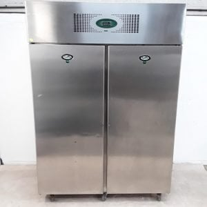 Used Foster EPSG1350L Stainless Steel Double Upright Freezer For Sale