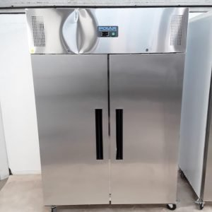 New B Grade Polar G594 Stainless Steel Double Upright Fridge For Sale