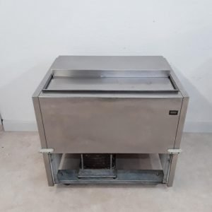Used Foster  Stainless Chest Freezer For Sale