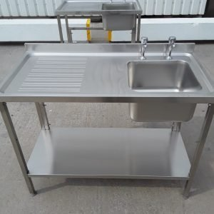 New B Grade   Stainless Steel Single Bowl Sink For Sale