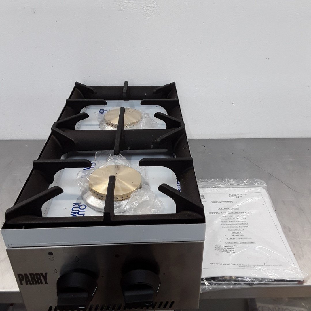 New B Grade Parry AG2H 2 Burner Boiling Top For Sale