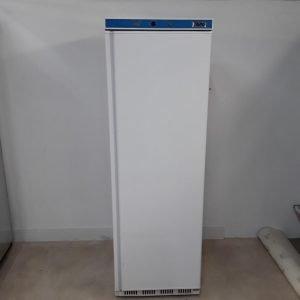 Used Saro HF400 White Upright Freezer For Sale