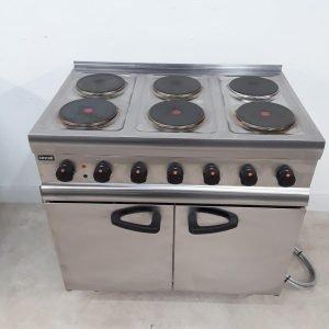 Ex Demo Lincat ESLR9C 6 Hob Range Cooker For Sale