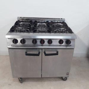Used Falcon Dominator G2101 OT 6 Burner Range Cooker For Sale