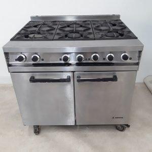 Used Falcon Dominator  6 Burner Range Cooker For Sale