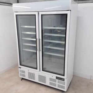 New B Grade Polar GH507 Double Upright Display Freezer For Sale