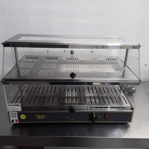 Ex Demo Roller Grill WD200 Heated Display For Sale