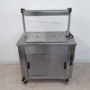 Used Moffat  Hot Cupboard Heated Gantry Trolley For Sale
