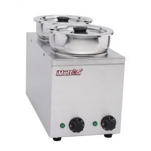 Brand New Imettos 101048 2 Pot Wet Bain Marie For Sale