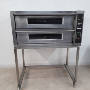 Used Moretti Forni ID10/65D Double Pizza Oven For Sale