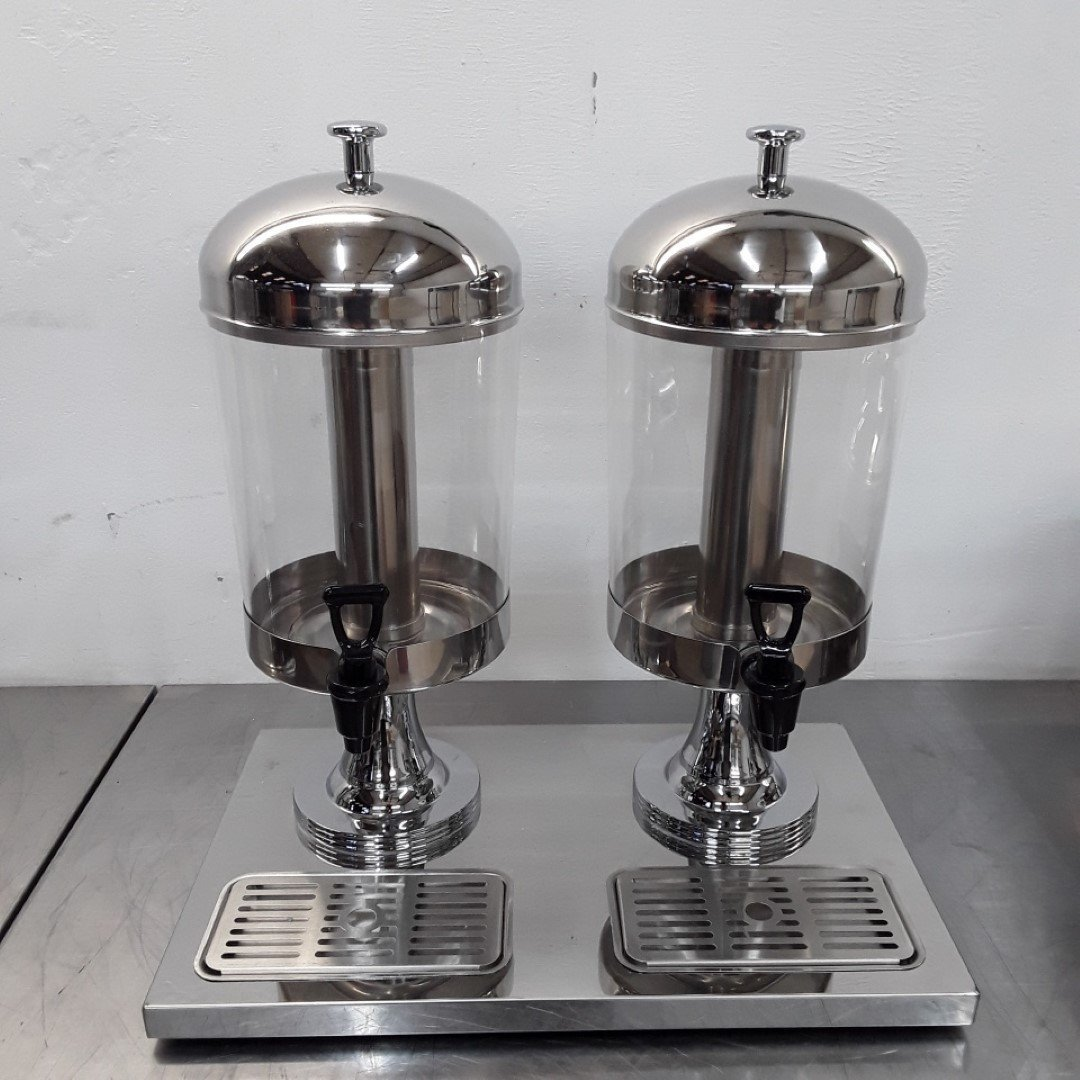 New B Grade Atosa  Double Juice Dispenser For Sale