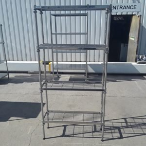 Used Craven  Stainless Steel Rack Shelf For Sale