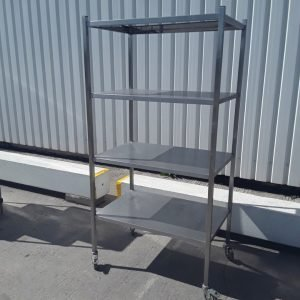 Used   Stainless Steel Rack Shelf For Sale
