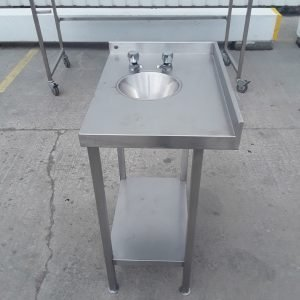 Used   Stainless Steel Freestanding Hand Sink For Sale