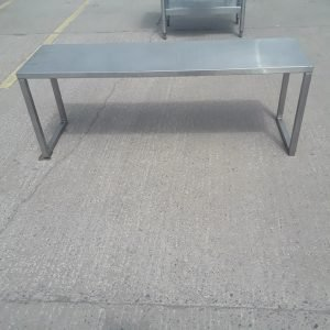 Used   Stainless Steel Gantry Shelf Stand For Sale