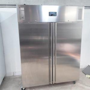 New B Grade Polar U635 Stainless Double Upright Freezer Heavy Duty For Sale