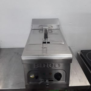 Used Burco CTFR01 Single Table Top Fryer 6L For Sale