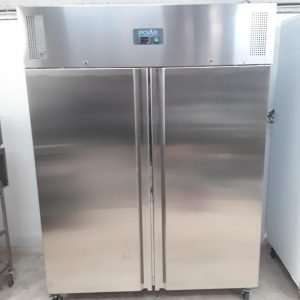 New B Grade Polar U635 Stainless Double Upright Freezer Heavy Duty For Sale