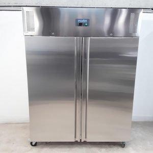 New B Grade Polar U635 Stainless Steel Double Upright Freezer For Sale