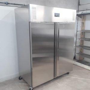 New B Grade Polar U634 Stainless Steel Double Upright Fridge For Sale
