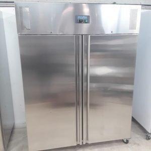 Ex Demo Polar U635 Stainless Steel Double Upright Freezer For Sale