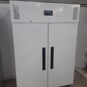 New B Grade Polar CD616 White Double Upright Freezer For Sale