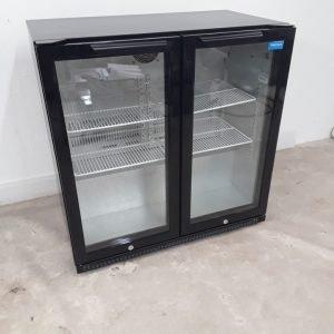 New B Grade Arctica HEC816 Double Display Drink Fridge For Sale