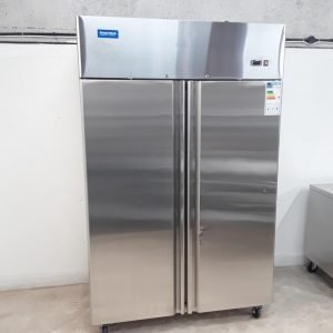 New B Grade Arctica HED102 Stainless Double Upright Freezer For Sale