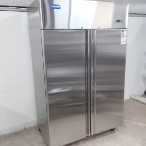 New B Grade Arctica HED101 Stainless Steel Double Upright Fridge For Sale