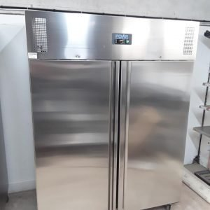 New B Grade Polar U635 Stainless Steel Double Upright Freezer For Sale