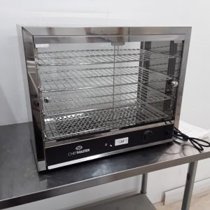 New B Grade Chefmaster HEC823 Heated Display Pie Warmer For Sale