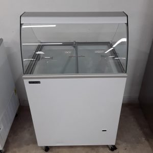 New B Grade Tefcold ICB200SC Ice Cream Display Freezer For Sale