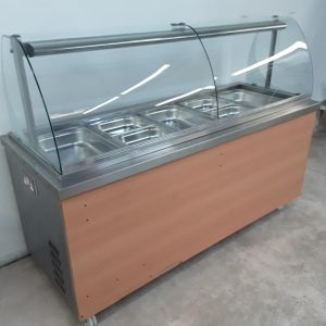 Used   Hot Cupboard Bain Marie Carvery Trolley For Sale
