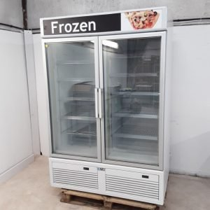 Used ISA Tornado Double Display Freezer For Sale
