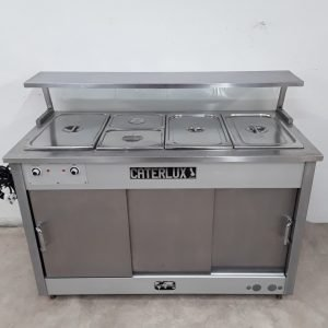 Used Caterlux Atlas Hot Cupboard Bain Marie For Sale