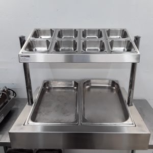 Used   Stainless Steel Display Stand For Sale
