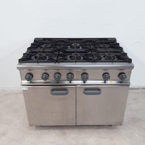 Used Fagor  6 Burner Range Cooker For Sale