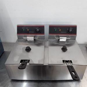 Ex Demo  EF-6L Double Table Top Fryer 6 L For Sale