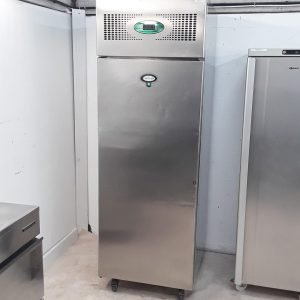 Used Foster EPROG600L Stainless Single Upright Freezer For Sale