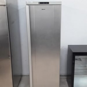 Used Gram F400RU Stainless Single Upright Freezer For Sale