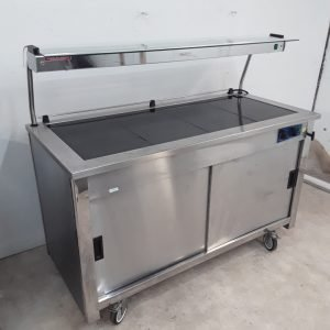 Used Moffat  Hot Cupboard Carvery Trolley For Sale