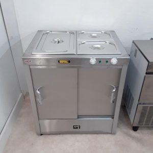 New B Grade Buffalo HCBA2 Hot Cupboard Bain Marie For Sale