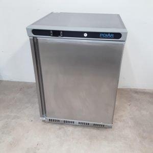 New B Grade Polar CD081 Stainless Under Counter Freezer For Sale