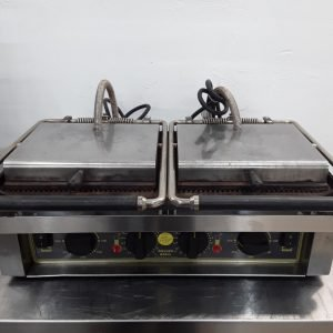 Used Roller Grill  Double Contact Panini Grill For Sale