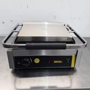 Used Buffalo DM903 Single Contact Panini Grill For Sale