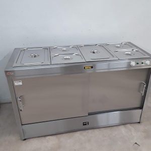 New B Grade Buffalo G499 Hot Cupboard Bain Marie For Sale