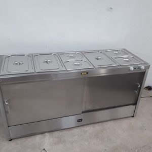 New B Grade Buffalo HCBA5 Hot Cupboard Bain Marie For Sale