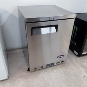 New B Grade Atosa MBC24F Stainless Single Under Counter Freezer For Sale