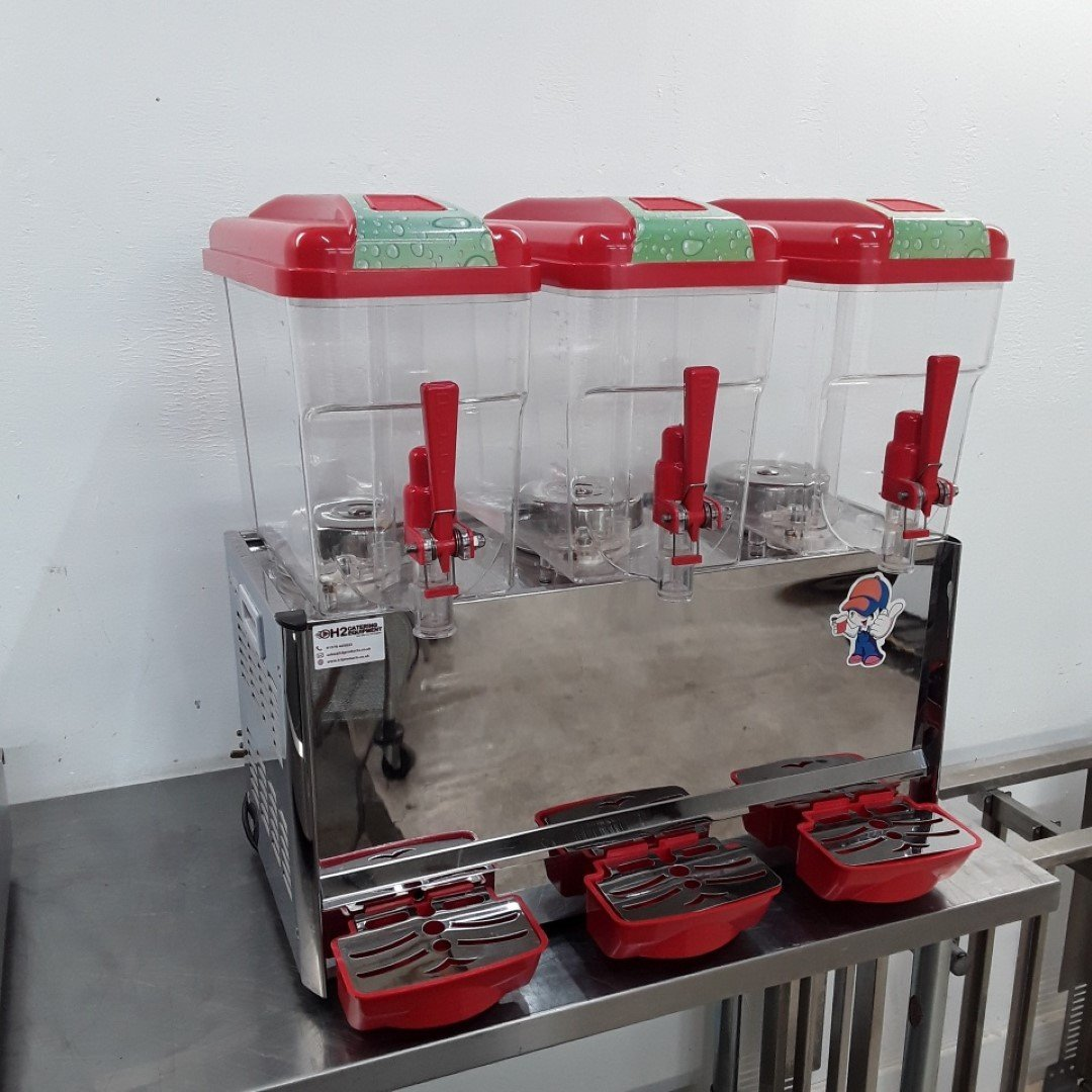 Used   Triple Drink Dispenser Chilled For Sale