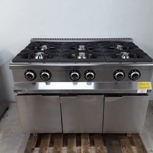 New B Grade Empero EMP.7KG030 6 Burner Range Cooker Top For Sale
